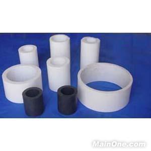 White Filled PTFE Teflon Tube / Tubing 2.10g/cm³ For Cable Jacket