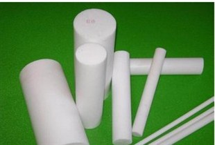 Extruded PTFE Rod / Teflon Rod For Sealing , High Chemical Resistance