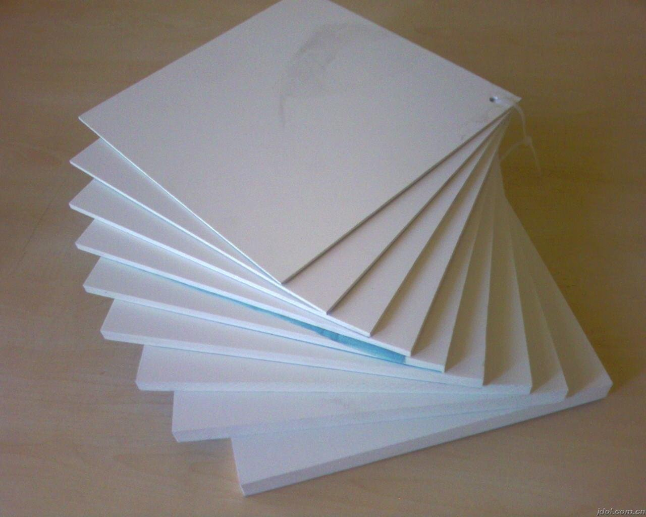 White PTFE Teflon Sheet Recycled