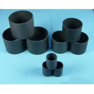 Black PTFE Teflon Tubing / PTFE Teflon Material For Heat Exchange